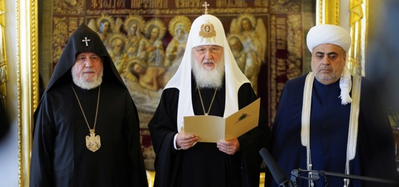 RUSSIAN, AZERBAIJANI AND ARMENIAN RELIGIOUS LEADERS HOLD TRILATERAL MEETING IN MOSCOW