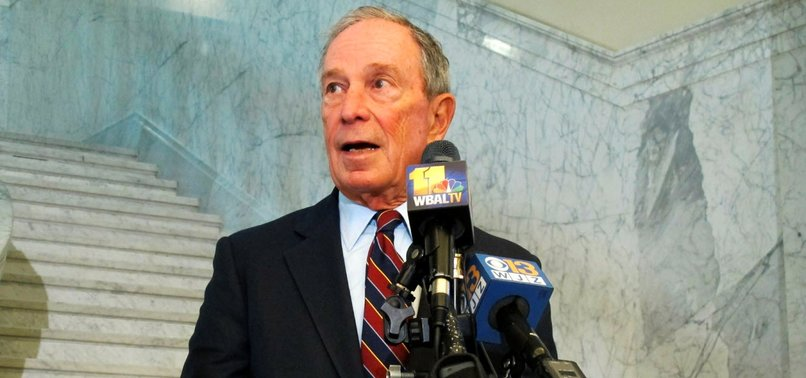 BLOOMBERG SAYS TRUMP, AT THIS POINT, CANNOT BE HELPED