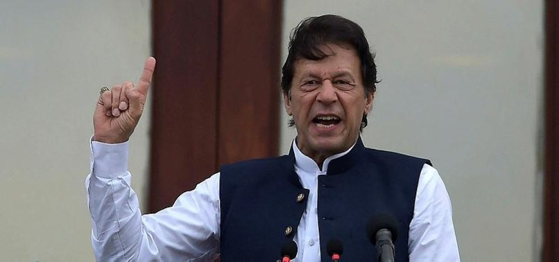 INACTION OVER KASHMIR WILL LEAD TO MILITARY STRIFE: PAKISTANI PM KHAN