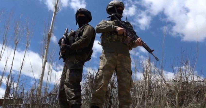 Savur'da çatışma: 1 asker yaralandı, 5 PKK'lı öldürüldü
