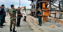 Five dead, four injured after crane collapses in Cambodia