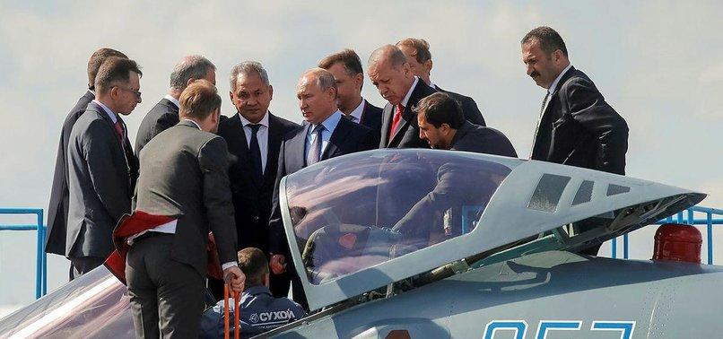 RUSSIA, TURKEY EYEING FIGHTER JET DEAL: KREMLIN