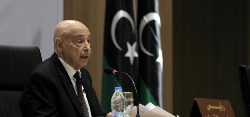 CEASEFIRE OVER, WAR WILL RESUME IN LIBYA, PRO-HAFTAR HOUSE SPEAKER AGUILA SALEH SAYS