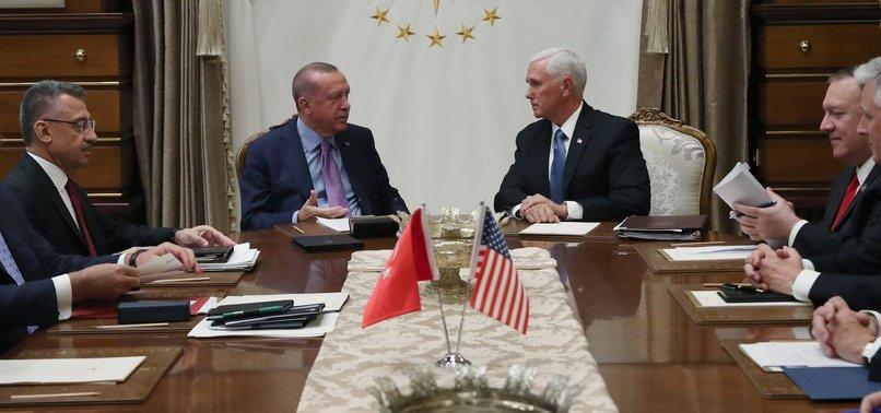 U.S., TURKEY AGREE ANKARA TO PRIMARILY CONTROL SYRIA SAFE ZONE