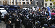 Berlin police detain 365 people at protest over virus restrictions