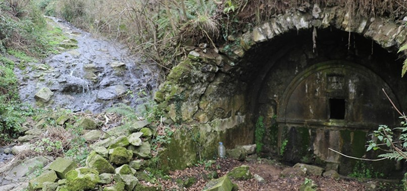SACRED SPRING DATING BACK TO 1800S DISCOVERED IN NORTHERN TURKEY