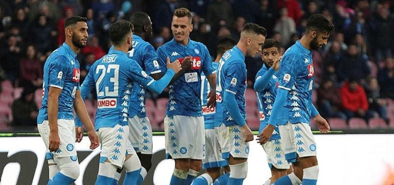 NAPOLI SOLIDIFIES HOLD ON 2ND WITH 4-0 WIN OVER FROSINONE