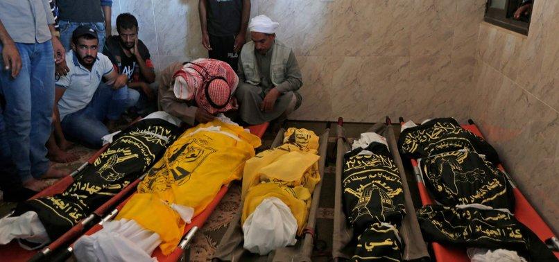 ISRAEL ACKNOWLEDGES KILLING 8 GAZA FAMILY MEMBERS