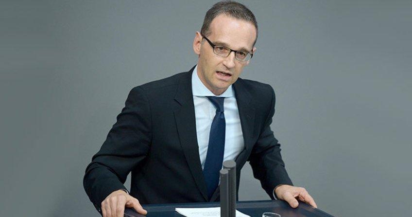 Almanya Adalet Bakanı Heiko Maas skandal 'iade' açıklaması yaptı