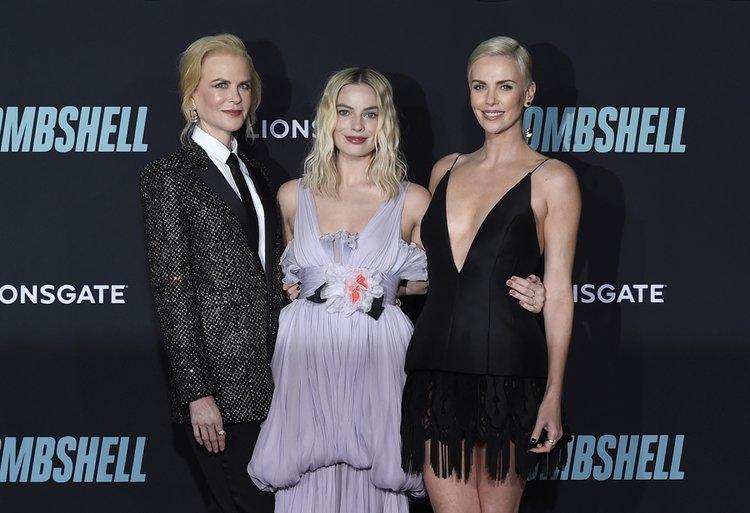 Bombshell filminin Los Angeles galası