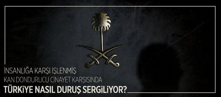 Türkiye'nin Kaşıkçı cinayetine yaklaşımı