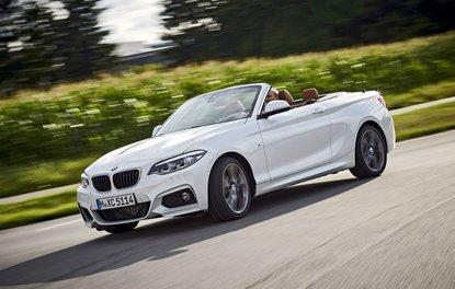 BMW 2 Serisi'ne hafif makyaj