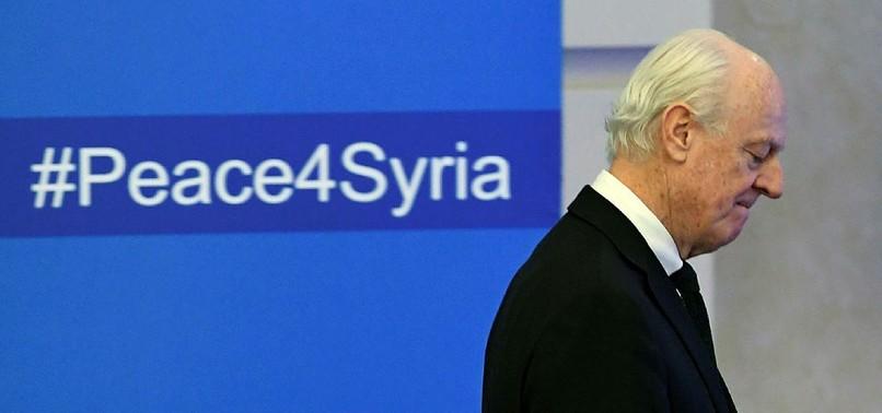 UN ENVOY CALLS SYRIA TALKS IN VIENNA NEXT WEEK
