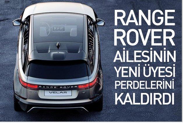 Range Rover ailesinin yeni üyesi perdelerini kaldırdı