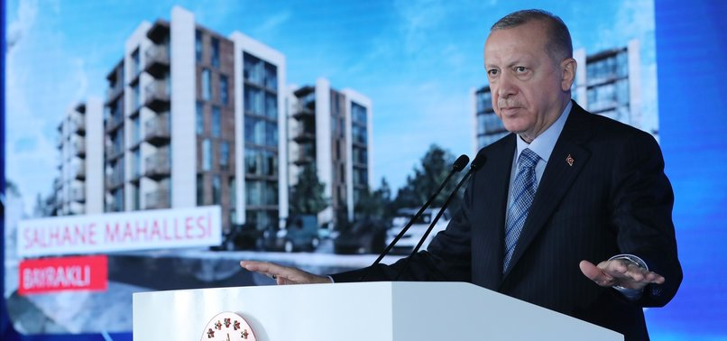 TURKISH ECONOMY WELL PLACED TO COMPETE ON WORLD STAGE, ERDOĞAN SAYS