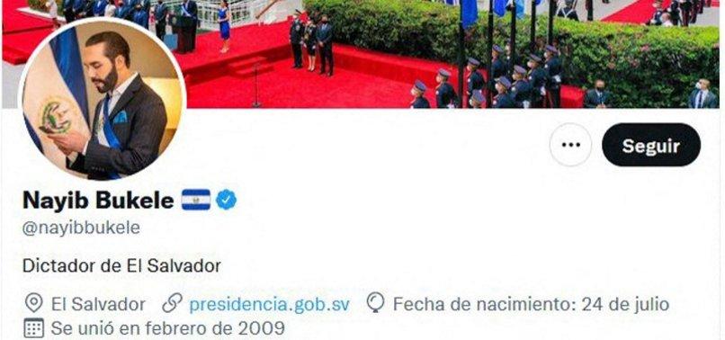 SALVADORAN PRESIDENT DECLARES HIMSELF DICTATOR IN APPARENT JOKE