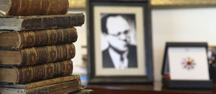 Cemil Meriç'in kütüphanesindeki eserler Cumhurbaşkanlığına bağışlandı