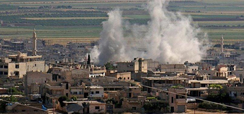 REGIME ATTACKS KILL 3 IN SYRIAS IDLIB: WHITE HELMETS