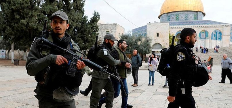 ISRAEL ARRESTS GUARD FROM AL-AQSA AMID MOUNTING TENSION