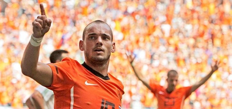 DUTCH MIDFIELDER SNEIJDER CALLS TIME ON INTERNATIONAL CAREER