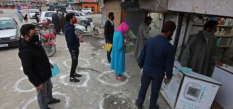 VIRUS CASES IN INDIAN-ADMINISTERED KASHMIR TOP 7,000