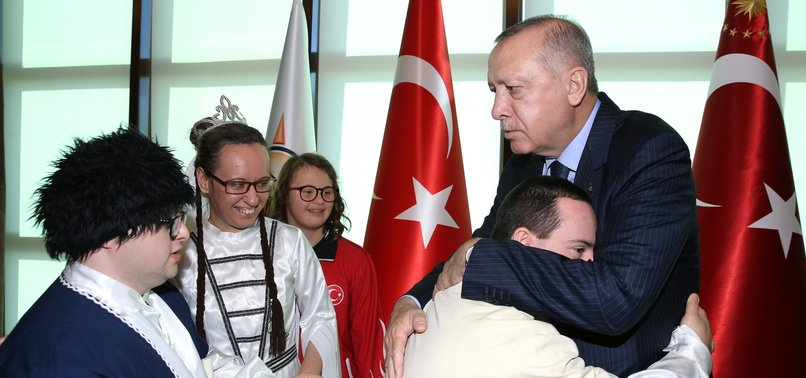 PRESIDENT ERDOĞAN MARKS INTERNATIONAL DAY OF DISABLED PERSONS