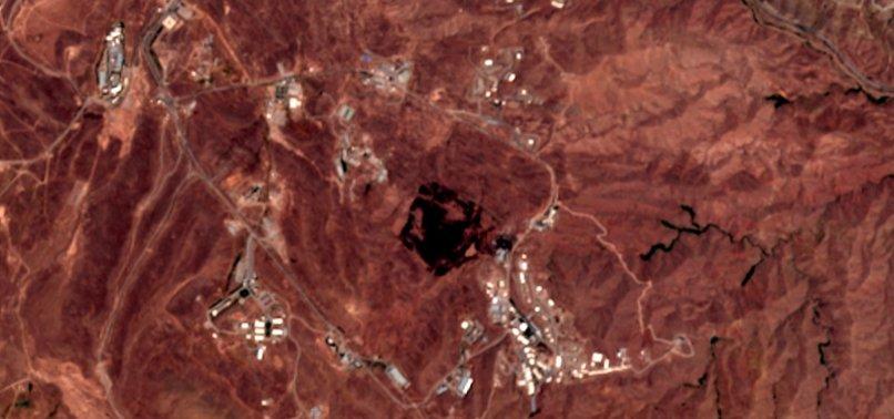 SATELLITE IMAGE: IRAN BLAST STRUCK BY SUSPECTED MISSILE SITE