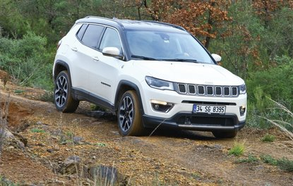 TEST · JEEP COMPASS 1.4 MULTİAİR 9ATX AWD LİMİTED