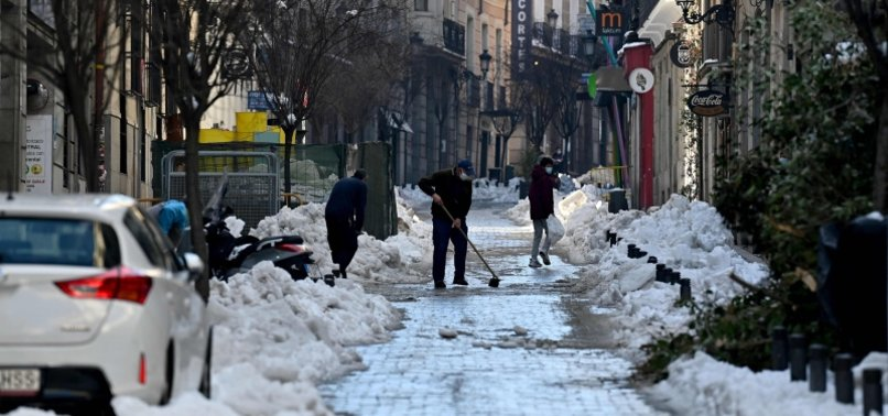 MADRID MAYOR PEGS SNOWSTORM DAMAGE AT $1.7B
