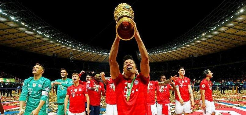 BAYERN MUNICH WIN GERMAN CUP, SECURE DOMESTIC DOUBLE