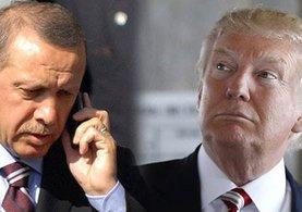 Erdoğan ile Trump telefonda görüşme yaptı