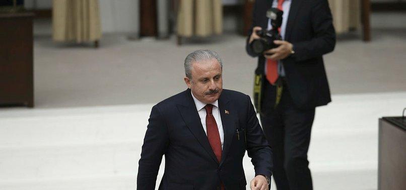 TURKISH PARLIAMENT REELECTS MUSTAFA ŞENTOP AS ITS SPEAKER