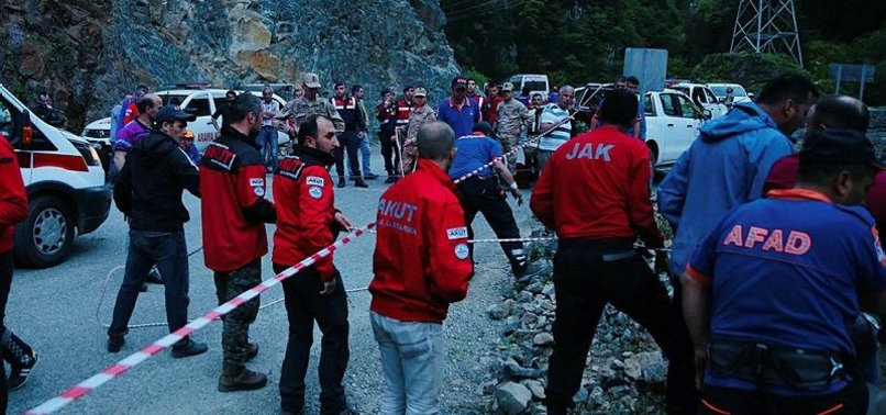 2 TURKISH SOLDIERS MARTYRED DURING RESCUE EFFORTS FOR ANADOLU REPORTER