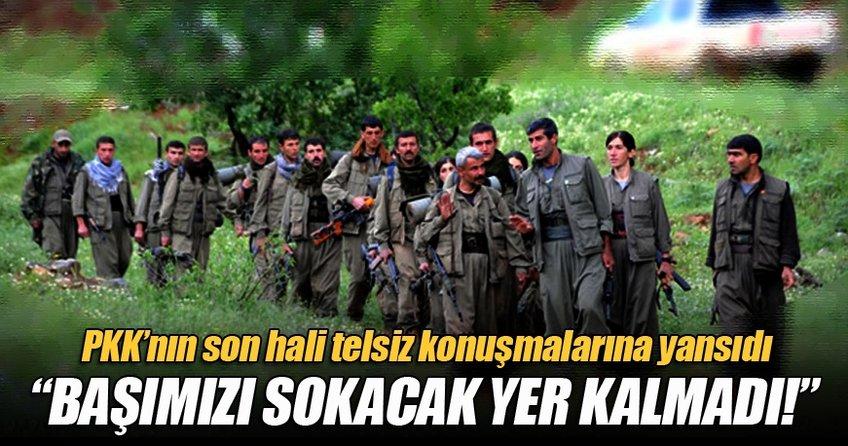 PKK'nın durumu telsiz konuşmalarında, 'Zayiat çok, katılım yok'