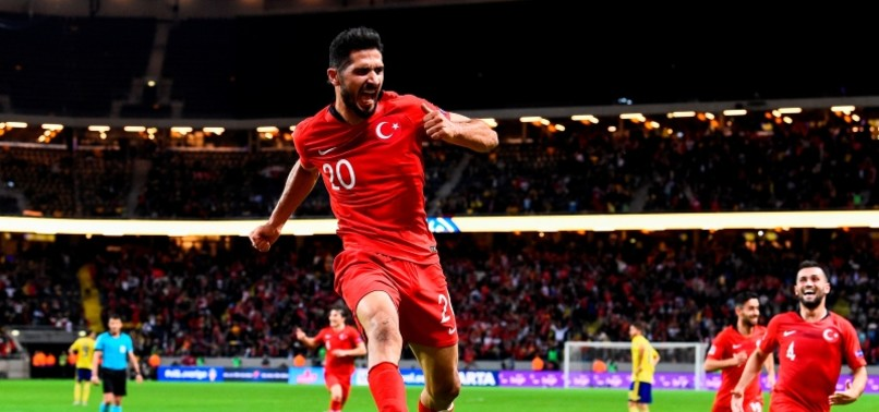 TURKEY MAKES STUNNING COMEBACK WITH LATE AKBABA DOUBLE, BEATING SWEDEN 3-2 AT NATIONS LEAGUE