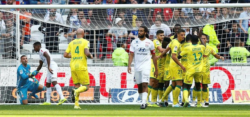 LYONS WINLESS STREAK STRETCHES TO SEVEN WITH NANTES DEFEAT