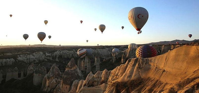 HOT AIR BALLOON RIDES IN CAPPADOCIA ATTRACT MORE THAN 2 MILLION TOURISTS