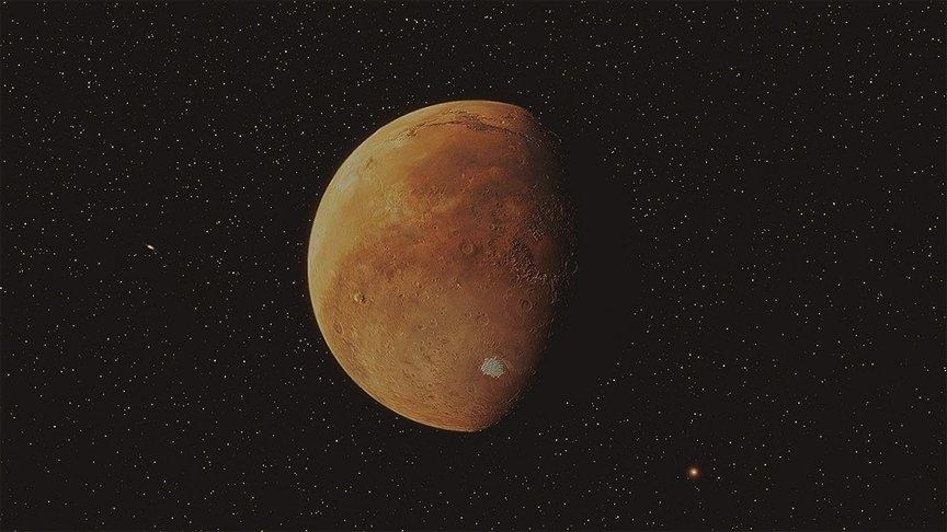 ÇİN'İN KEŞİF ARACI 'TİENVIN-1', MARS'IN ETRAFINDA SEYRETTİĞİ YÖRÜNGESİNİ DÜZELTTİ