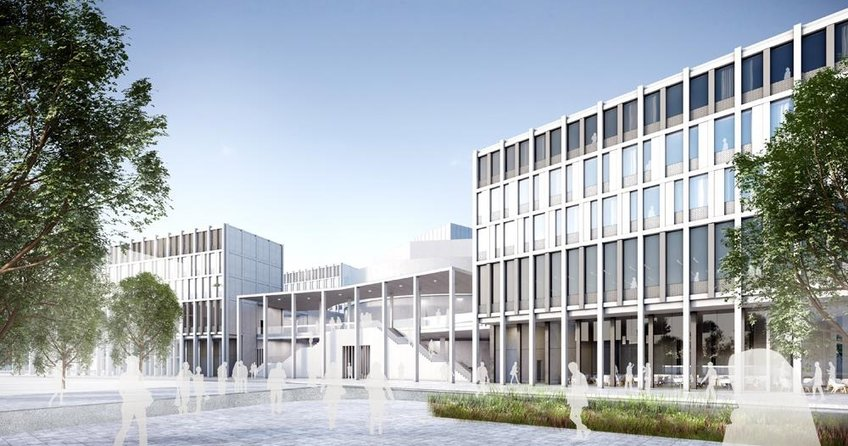 Almanya'da yeni İslam Kültür Merkezi inşa ediliyor