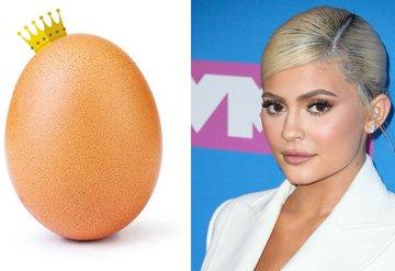 Instagram rekortmeni yumurta, Kylie Jennerı geride bıraktı