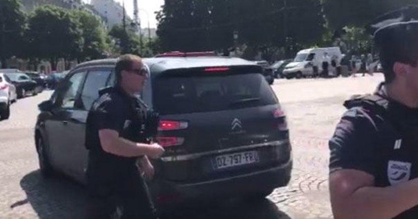 Pariste güvenlik alarmı!