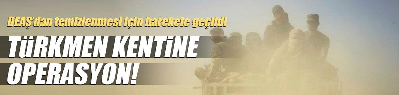 Irak ordusundan Türkmen kentine operasyon!