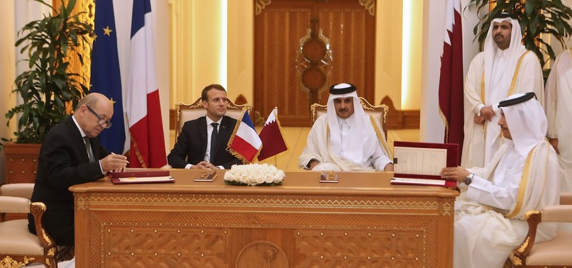 QATAR SIGNS DEALS FOR FIGHTER JETS, ARMORED VEHICLES WORTH $14.15 BILLION AMID GULF CRISIS