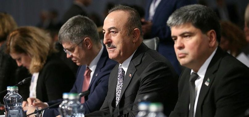 TURKISH FM ÇAVUŞOĞLU CONDEMNS FETO MEMBERS WHO TOOK PART IN OSCE MEETING