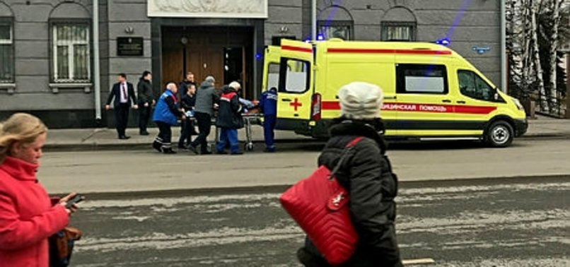 DEADLY BLAST IN RUSSIA KILLS SECURITY OFFICER