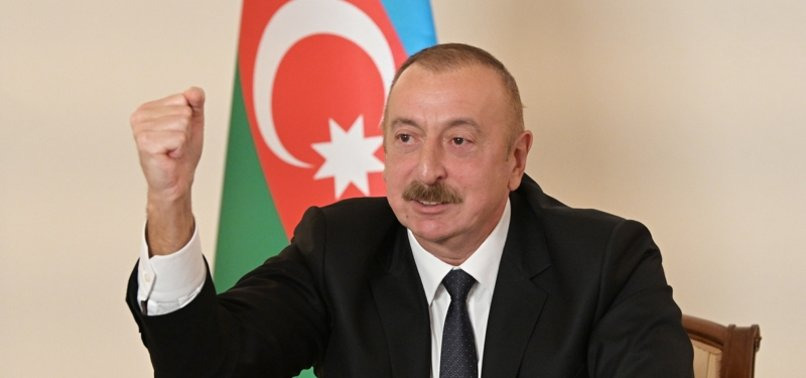AZERBAIJANI LEADER CONGRATULATES TURKEY ON REPUBLIC DAY