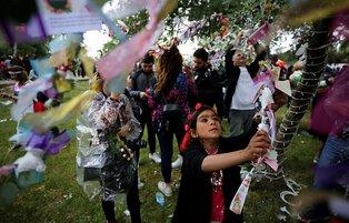 Spring festival of Hidrellez celebrated in Turkey