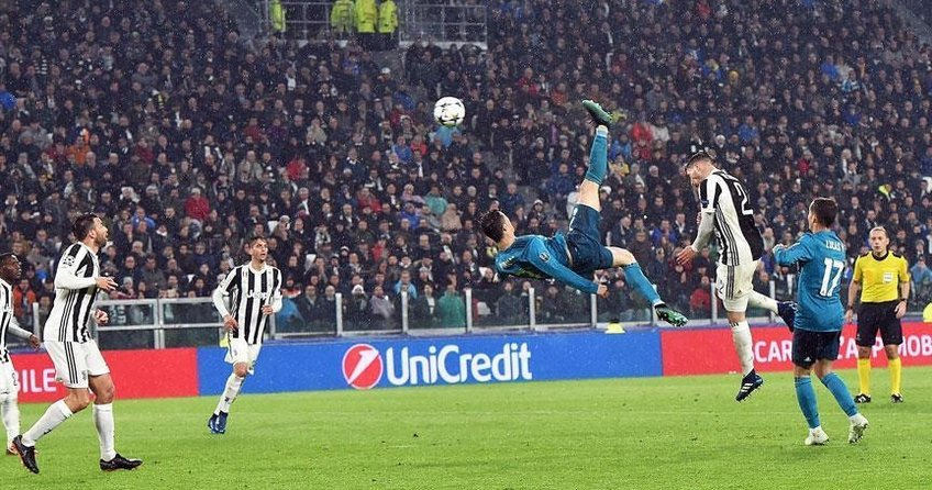 Real Madridin kazandığı maçta Ronaldo tarihe geçti