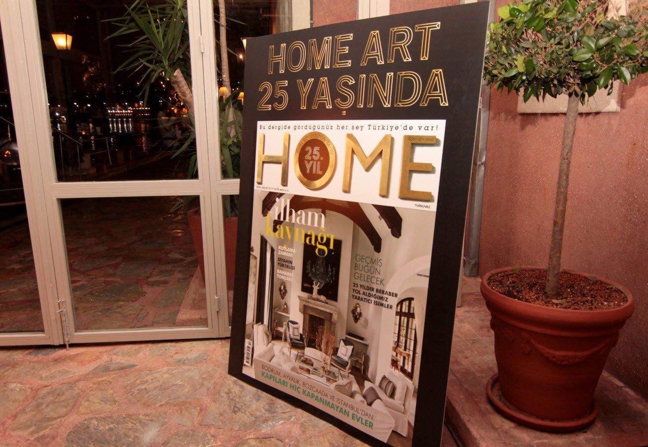 HOME ART 25 YAŞINDA!