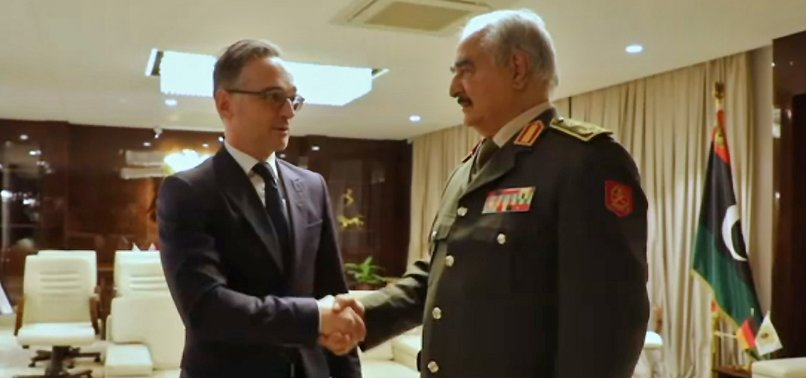 HAFTAR AGREES TO ABIDE BY CEASEFIRE, READY TO JOIN LIBYA TALKS: GERMAN FOREIGN MINISTER HEIKO MAAS